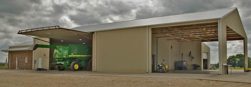 hydroswing agriculture machine shed doors