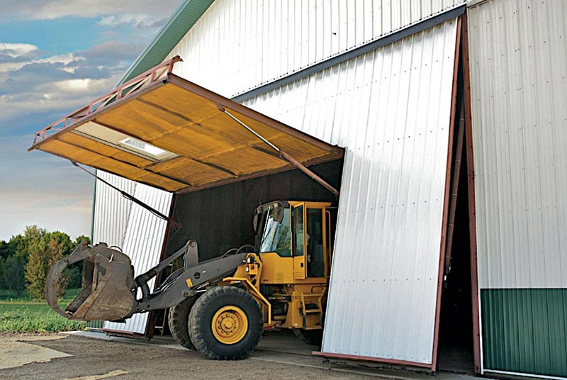 Hydroswing Canada Agriculture Doors