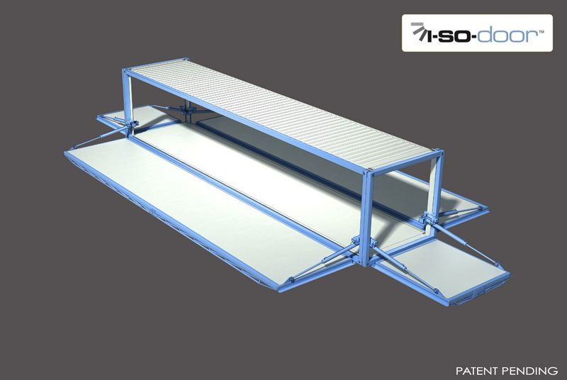 hydroswing hydraulic iso container door 2