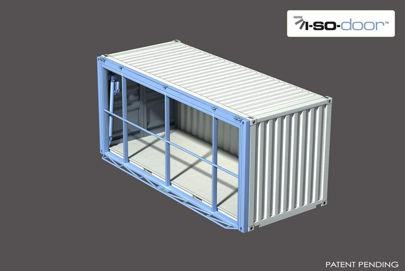 hydroswing hydraulic iso container door 9