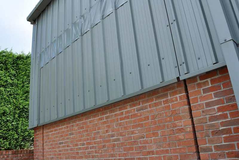 hydroswing scorton lancashire private helicopter hangar doors
