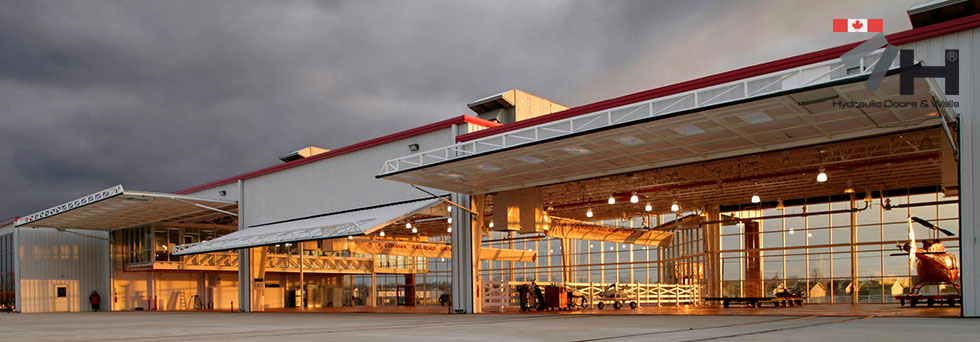 moody airfield helicopter hangar canada