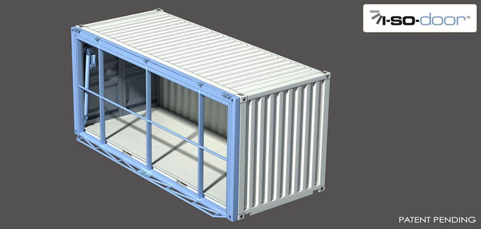 Hydroswing USA | ISO Containers | Hydraulic Doors | Shipping Containers