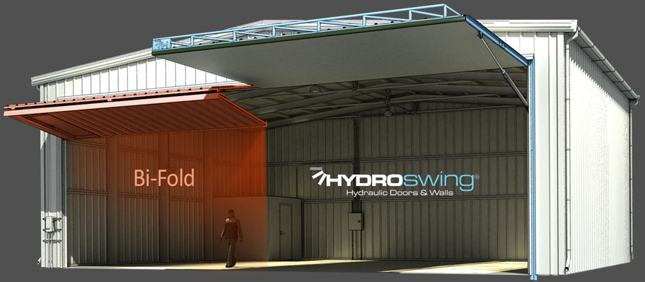 hydroswing hydraulic door bi fold door comparison