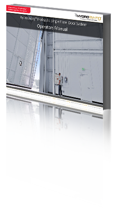 operators manual single panel hydraulic door