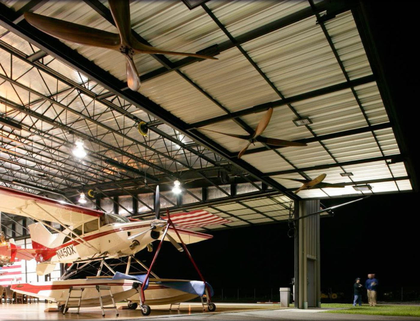 aircraft hangar doors by hydroswing safe strong secure