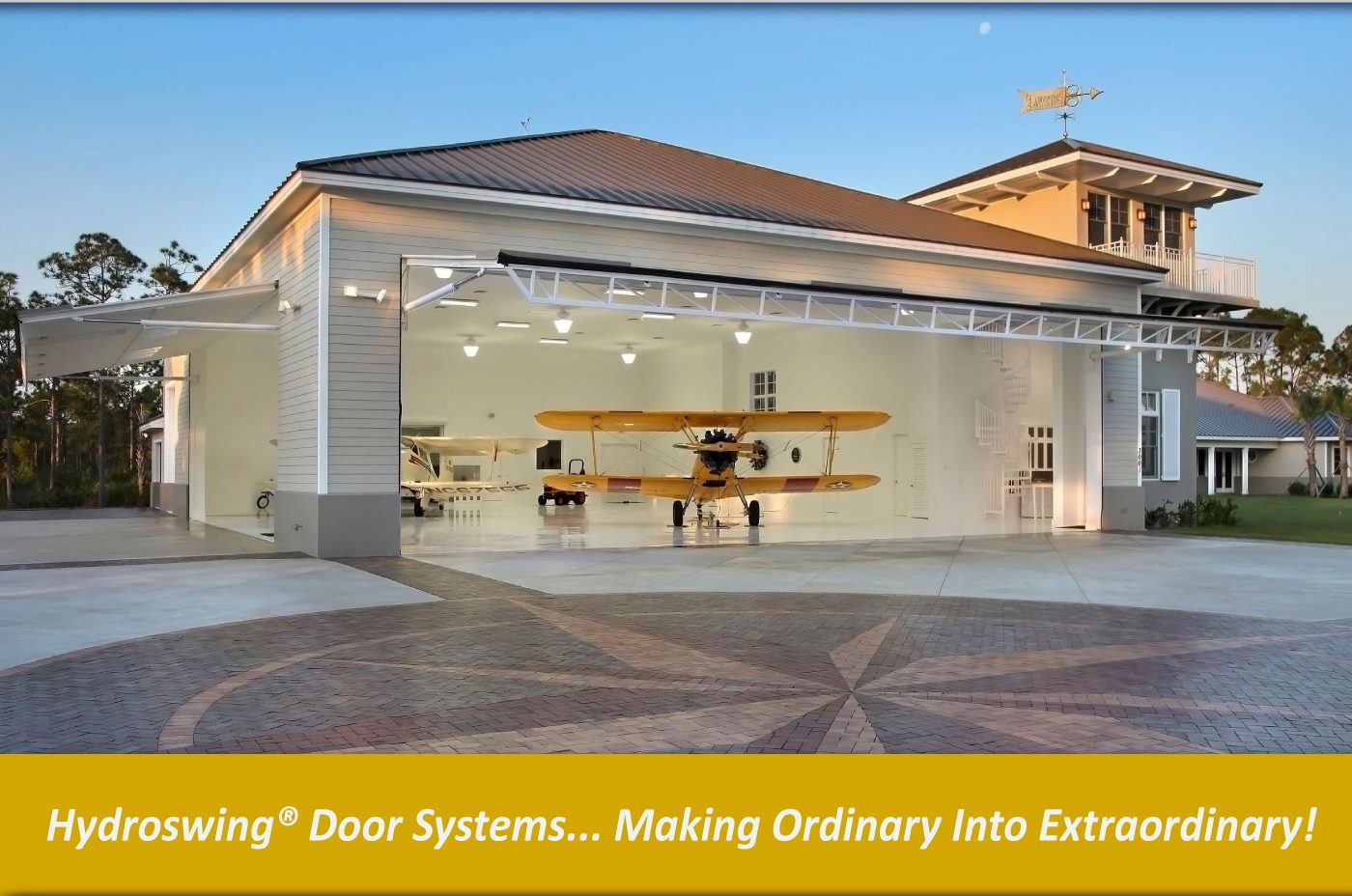 bi fold door replacement option hydroswing hydraulic doors
