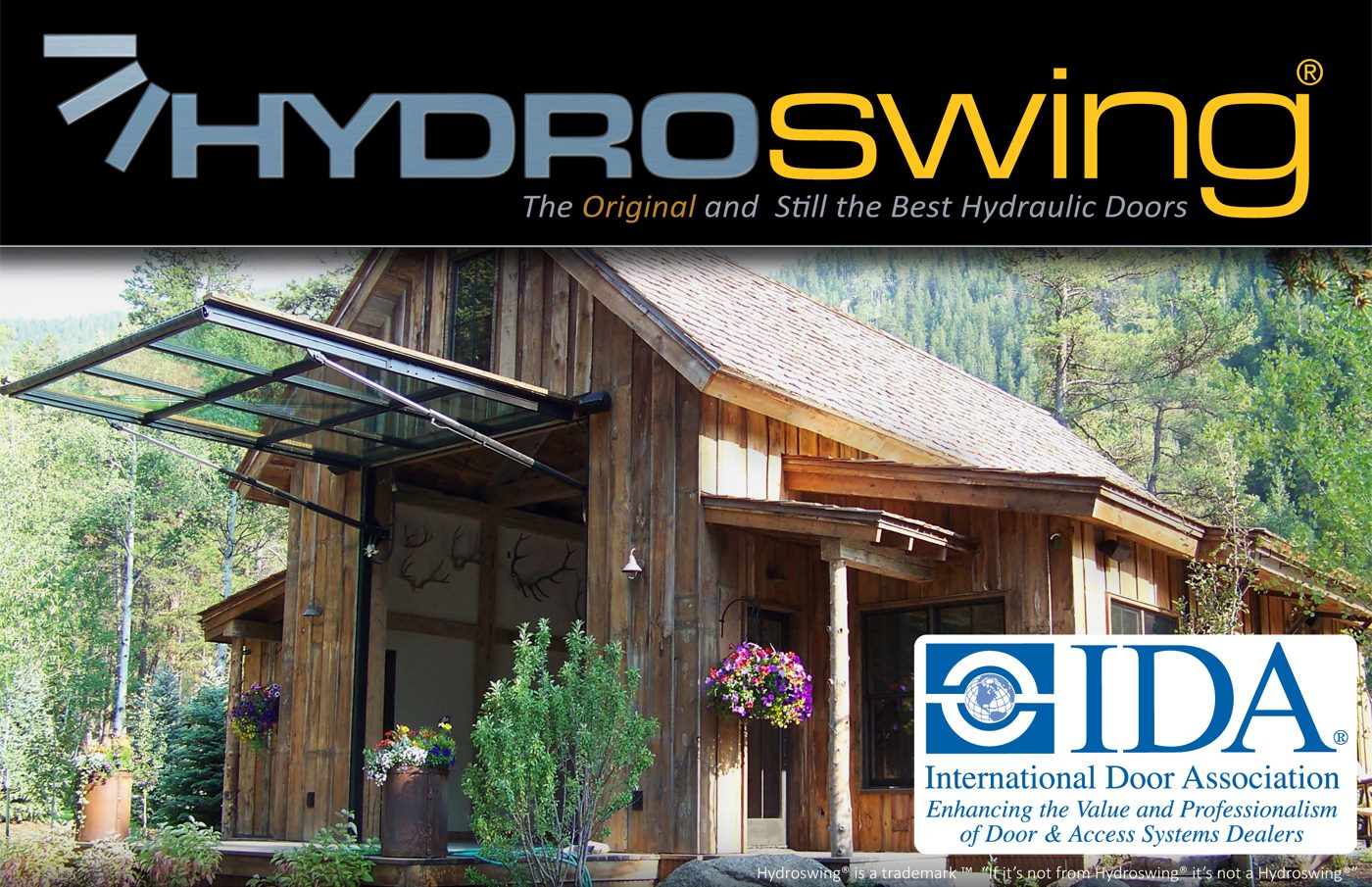 bath house with hydraulic moving wall by hydroswing