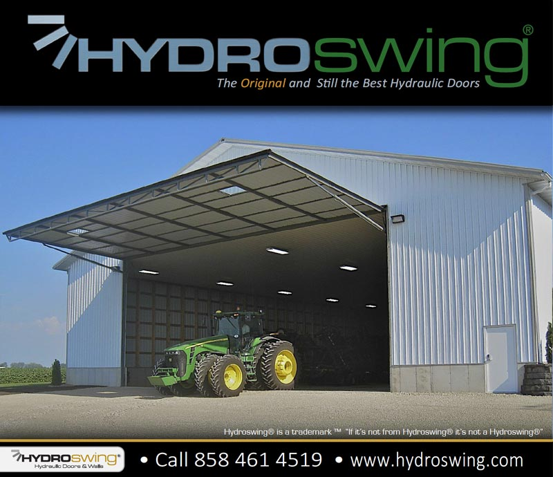 hydroswing air park hangar door