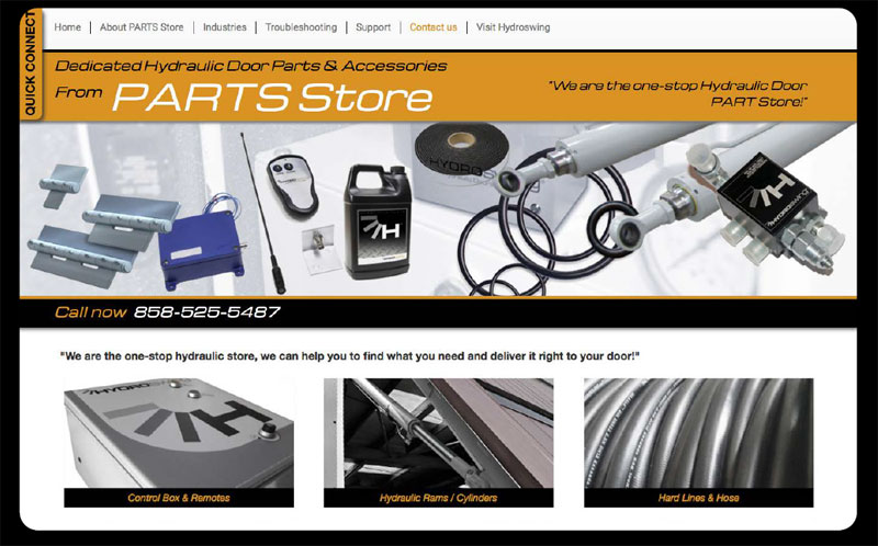 hydroswing launches dedicated website for hydraulic door parts