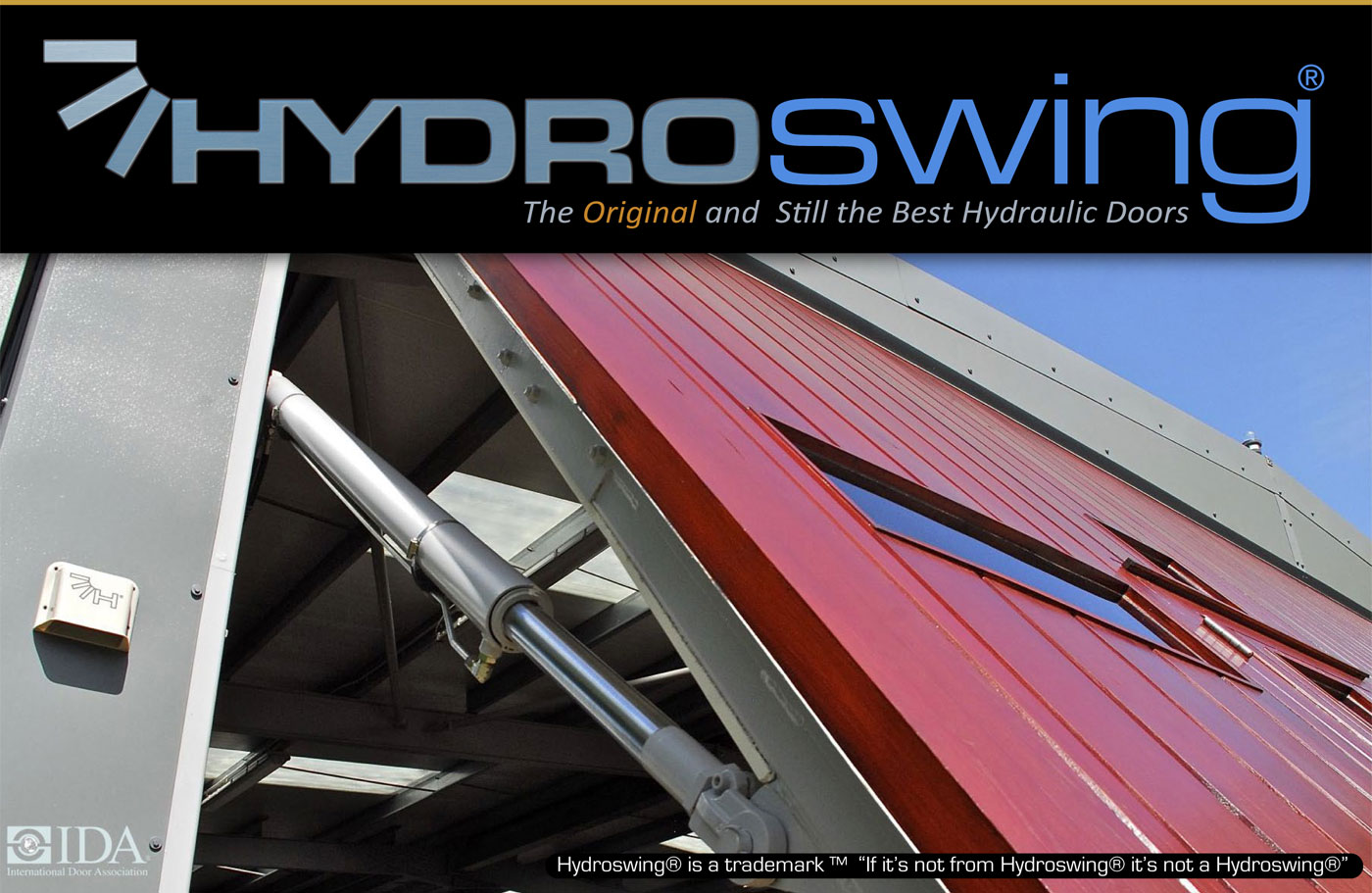 replace dangerous bifold door with quality hydroswing hydraulic door